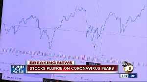 Stocks plunge on coronavirus fears [Video]