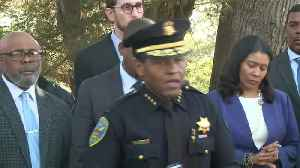 RAW: SFPD Chief Scott Announces Arrest In Bayview-Hunters Point Recycling Theft [Video]