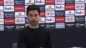 Arteta 'hurt' by Arsenal's Europa League exit [Video]