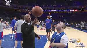 Sixers Make Interboro Basketball Manager Honoring Ball Boy [Video]