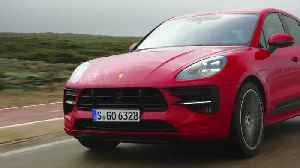 The new Porsche Macan GTS in Carmine Red Driving Video [Video]