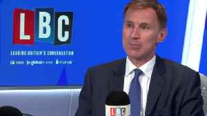 Jeremy Hunt: Coronavirus will have profound impact on the UK [Video]