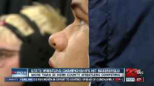 Local wrestlers open up state championships at Mechanics Bank Arena [Video]