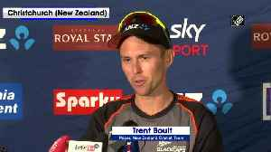 Ind vs NZ Trent Boult shares Kiwis' strategy ahead of 2nd test match [Video]