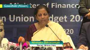 Coronavirus Govt ready to help industries which face raw material problems from China, says Sitharaman [Video]
