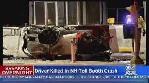 Driver Killed In Hooksett, New Hampshire Toll Booth Crash [Video]