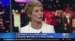 Barbara Corcoran Victim Of Phishing Scam [Video]