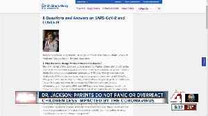 Dr. Jackson: Parents do not panic or overreact [Video]