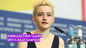 Julia Garner compares acting in 'Ozark' to 'The Assistant' [Video]