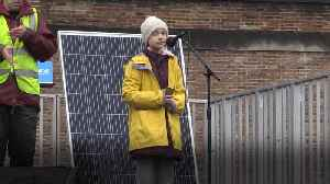 Greta Thunberg to climate activists in Bristol: We have to be the adults [Video]