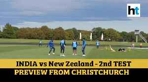 India vs New Zealand: Litmus Test for Virat Kohli & Co at Christchurch [Video]