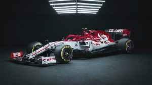 Alfa Romeo unveils Formula 1 race car [Video]