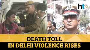 Delhi violence: Death toll rises to 42, police visits affected areas [Video]