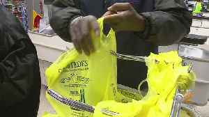 New York's Plastic Bag Ban Starts On Sunday [Video]