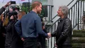 Prince Harry, Jon Bon Jovi Record At Abbey Road Studios [Video]