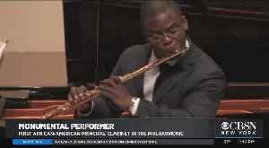 Black History Month: Anthony McGill, First African-American Principal Clarinet At New York Philharmonic [Video]
