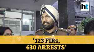 News video: Delhi violence | 123 FIRs, 630 arrested till now in north east clashes: Police