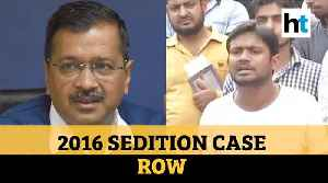Delhi govt gives nod for Kanhaiya Kumar's prosecution in 2016 sedition case [Video]