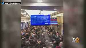 NJ Transit Says Train Ran A Red Light, Caused Long Delays For Commuters [Video]