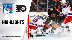 NHL Highlights   Rangers @ Flyers 2/28/20 [Video]