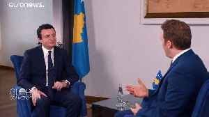 Kosovan PM to push for constructive dialogue with Serbia [Video]
