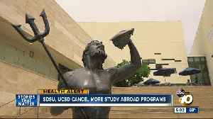 SDSU, UCSD cancel more study abroad programs over coronavirus [Video]