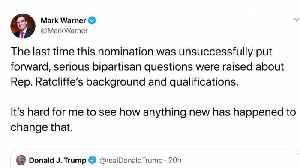 Trump again nominates Congressman Ratcliffe as his intelligence director [Video]
