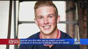 Grand Jury Decides Not To Indict Suspect Accused In Emerson College Student's Death [Video]