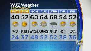 Bob Turk Has A Look At Your Friday Evening Forecast [Video]