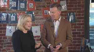 Sen. Kirsten Gillibrand Campaigns For John Hickenlooper [Video]