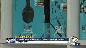 Carlsbad company feeling coronavirus impact [Video]