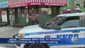 Window Shot Out At Popular Pizza Shop In Williamsburg [Video]