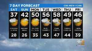 New York Weather: CBS2 2/28 Nightly Forecast at 11PM [Video]