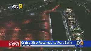 4 People Taken To Area Hospitals From Cruise Ship In San Pedro, 2 With Injuries [Video]