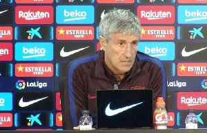 "Setien: ""I don't trust the bad moment of Real Madrid, for them it is a vital game"" [Video]"