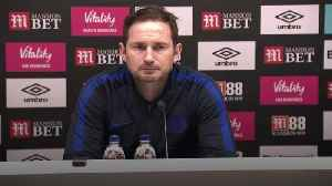 Lampard frustrated by Chelsea's finishing after Bournemouth draw [Video]
