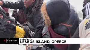 Migrants arrive in Lesbos after Erdogan opens Turkey's border with EU [Video]