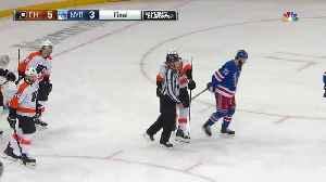 New York Rangers vs. Philadelphia Flyers - Game Highlights [Video]