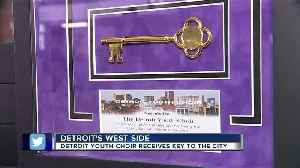 Detroit Youth Choir receives key to the city [Video]