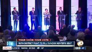 50th District fight to fill Duncan Hunter's seat [Video]