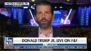 Donald Trump Jr. slams unhinged leftists for hoping coronavirus hurts President politically [Video]