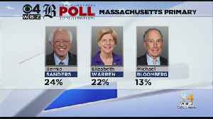 Exclusive Massachusetts Primary Poll: Warren And Sanders Nearly Tied For Win [Video]