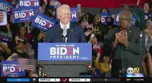 Former Vice President Joe Biden Projected To Win South Carolina Primary [Video]