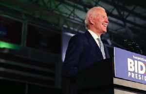 Biden wins big in South Carolina; Steyer bows out [Video]