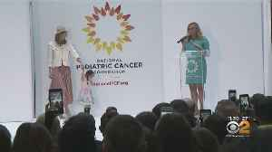 Pediatric Cancer Patients Participate In 'Fashion Funds The Cure' Fashion Show Fundraiser [Video]