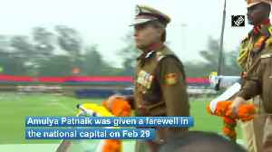 Farewell parade of Delhi Police Commissioner Amulya Patnaik [Video]