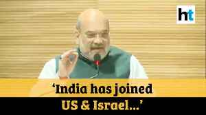 'After surgical strike & Balakot ops, India now at par with US & Israel': Amit Shah [Video]