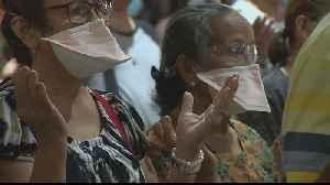 Philippines: Church attendance hits low over coronavirus fears [Video]