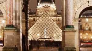 Iconic Paris Louvre Museum Closes Amid Coronavirus Fears [Video]