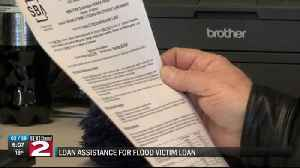 Loan assistance for flood victims [Video]